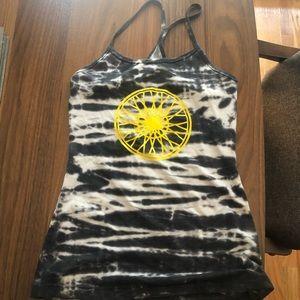 Soul cycle tie dye workout tank